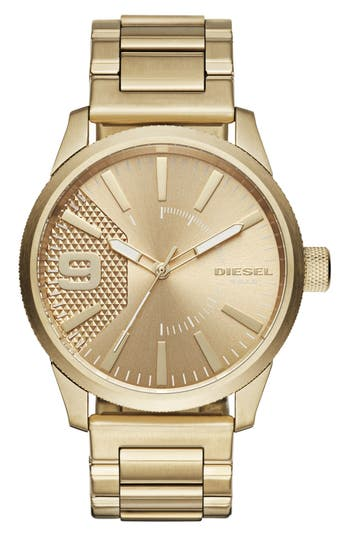 DIESEL® The Rasp Bracelet Watch, 46mm