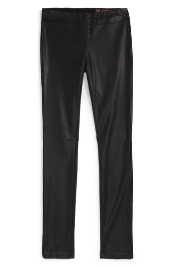 BLANKNYC Faux Leather Leggings (Big Girls)