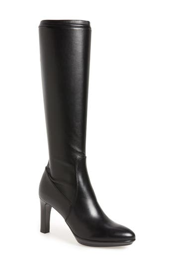 Aquatalia 'Rumbah' Weatherproof Knee High Stretch Boot (Women)