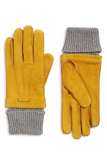 Burberry Suede Gloves