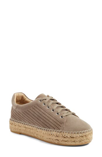 Marc Fisher LTD Mandal Perforated Platform Espadrille Sneaker (Women)