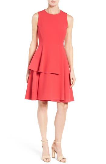 BOSS Desessy Peplum Dress