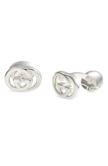 Gucci 'Silver Britt' Cuff Links