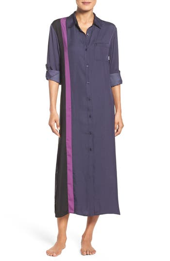 DKNY Satin Maxi Nightgown