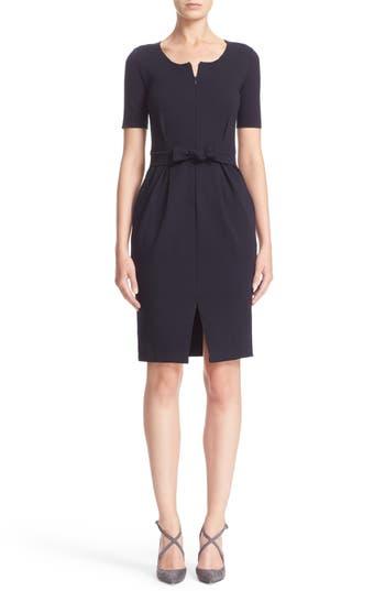 Armani Collezioni Tie Milano Jersey Dress