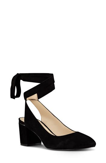 Nine West Andrea Ankle Wrap Pump (Women)