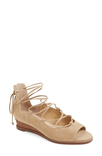 Vince Camuto Rochela Lace-Up Wedge (Women)