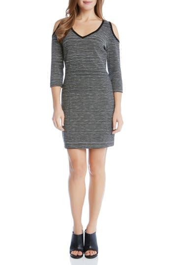 Karen Kane Cold Shoulder Sheath Dress