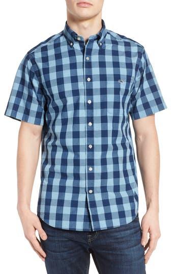Vineyard Vines Pear Tree Cove Tucker Slim Fit Plaid Sport Shirt