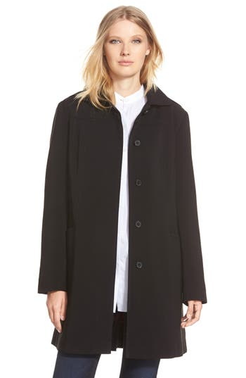 Gallery Hooded Nepage Raincoat (Regular & Petite)