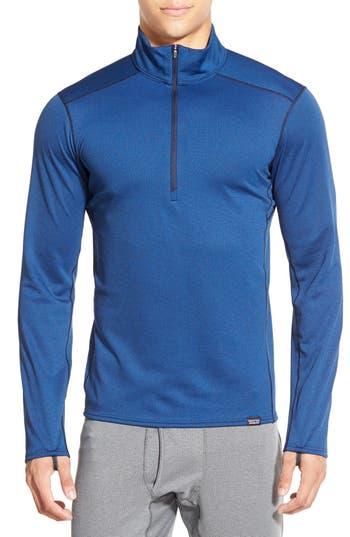 Patagonia 'Capilene® Midweight' Base Layer Half Zip T-Shirt
