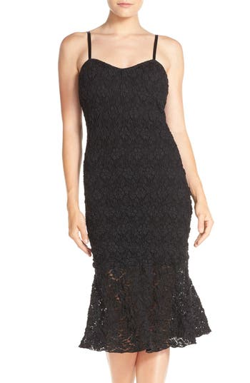 French Connection Havana Lace Midi Dress