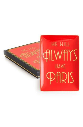 Rosanna We Will Always Have Paris Porcelain Tray