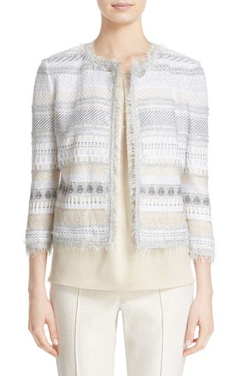 St. John Collection Merengue Knit Jacket