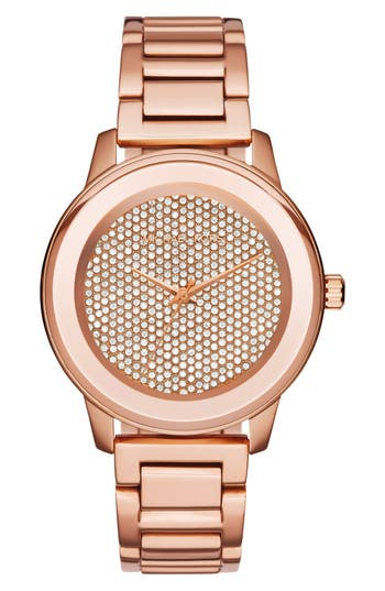 MICHAEL Michael Kors 'Kinley' Bracelet Watch, 41mm