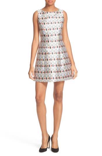 Alice + Olivia Lindsey Fit & Flare Dress