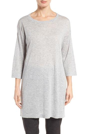 Eileen Fisher Tencel® & Merino Wool Blend Tunic (Regular & Petite)