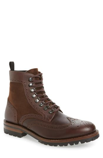 Frye George Adirondack Boot with Genuine Shearling (Men)