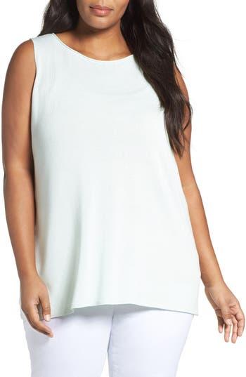 Eileen Fisher Sleek Tencel® Knit Tank (Plus Size)