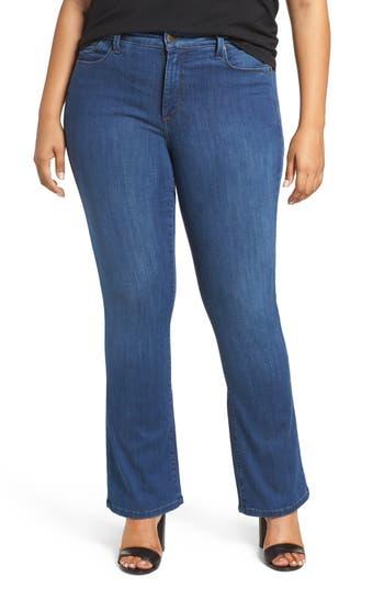NYDJ Billie Stretch Mini Bootcut Jeans (Valencia) (Plus Size)