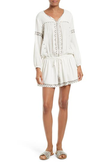 Joie Laka Embellished Peasant Dress Dress