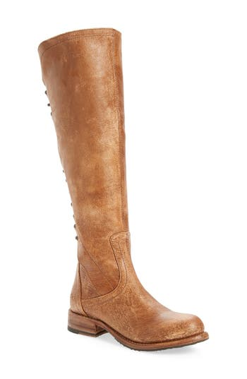 Bed Stu Surrey Lace-Up Over the Knee Boot (Women)
