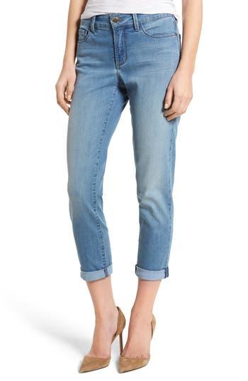 NYDJ Alex Roll Cuff Stretch Ankle Skinny Jeans (Pampelonne) (Regular & Petite)