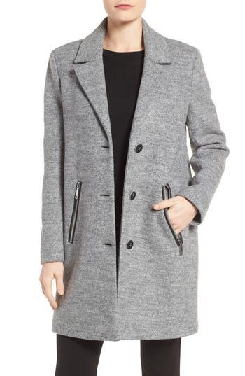 Calvin Klein Bouclé Walking Coat