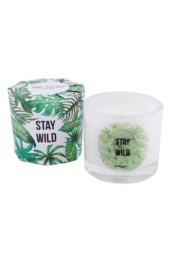 Me and Mats Stay Wild Handmade Candle