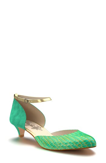 Shoes of Prey Ankle Strap d'Orsay Pump (Women)