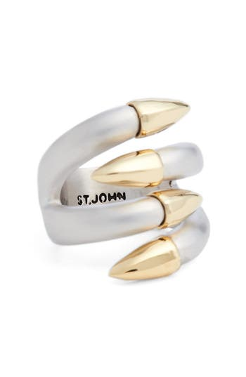 St. John Collection Claw Cocktail Ring