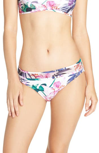 Tommy Bahama 'Orchid Canopy' Hipster Bikini Bottoms