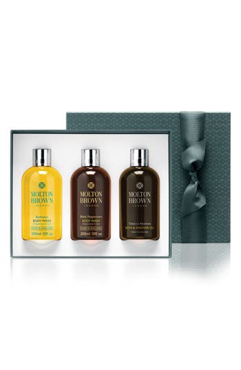MOLTON BROWN London Iconic Washes for Him Set (Limited Edition) ($90 Value)