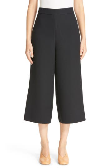 Tibi Nerd High Waist Crop Pants