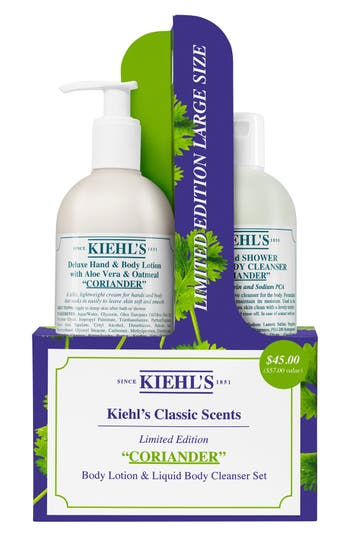 Kiehl's Since 1851 Classic Scents Coriander Edition Duo (Limited Edition) (Nordstrom Exclusive) ($57 Value)