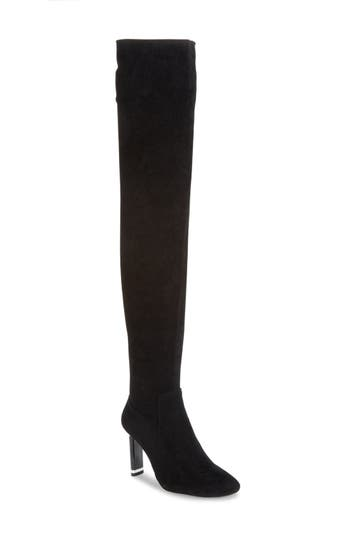 Jeffrey Campbell Peligro Over the Knee Boot (Women) (Narrow Calf)
