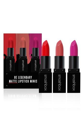 Smashbox Be Legendary Matte Mini Lipstick Trio