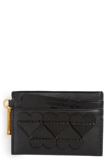 MARC JACOBS Heart Leather Card Case