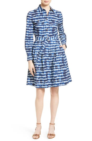 Tory Burch Derrick Belted Shirtdress