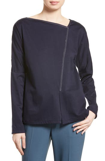 Tibi Long Sleeve Tee