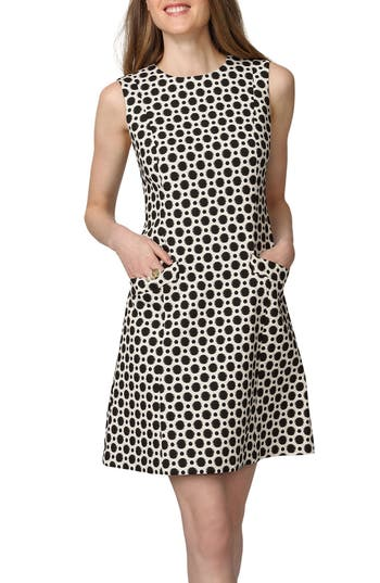 Donna Morgan Print A-Line Dress