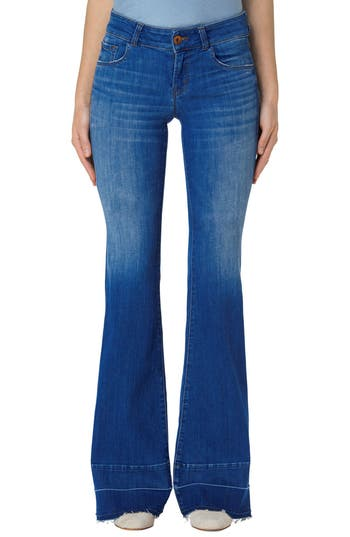 J Brand Love Story Flare Jeans (Angelic)