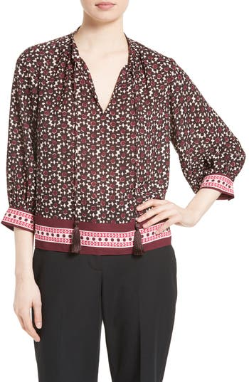 kate spade new york floral tile swing top