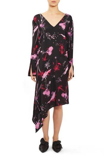 Topshop Boutique He Loves Me Silk Dress