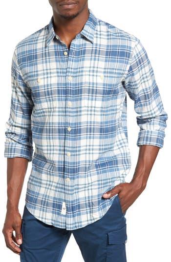 Dockers® Wrinkled Twill Plaid Shirt