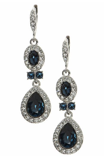 Givenchy Pear Double Drop Earrings