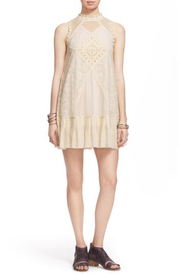 Free People 'Angel' Lace Shift Dress