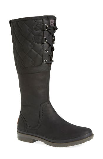 UGG® Elsa Quilted Waterproof Boot (Women)
