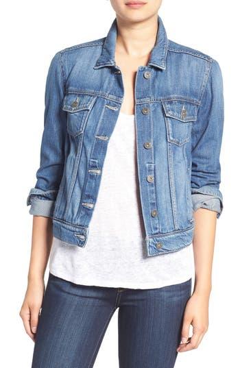 PAIGE 'Rowan' Denim Jacket (Burton)