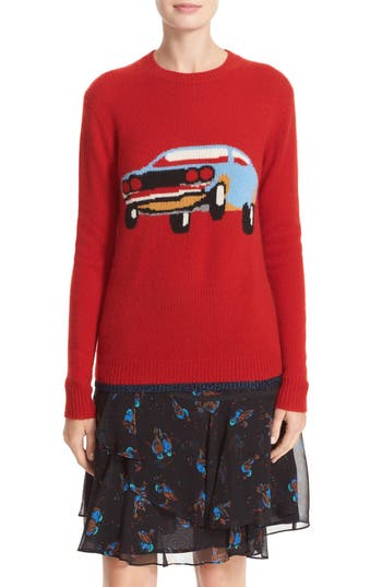 COACH 1941 Car Cashmere Sweater